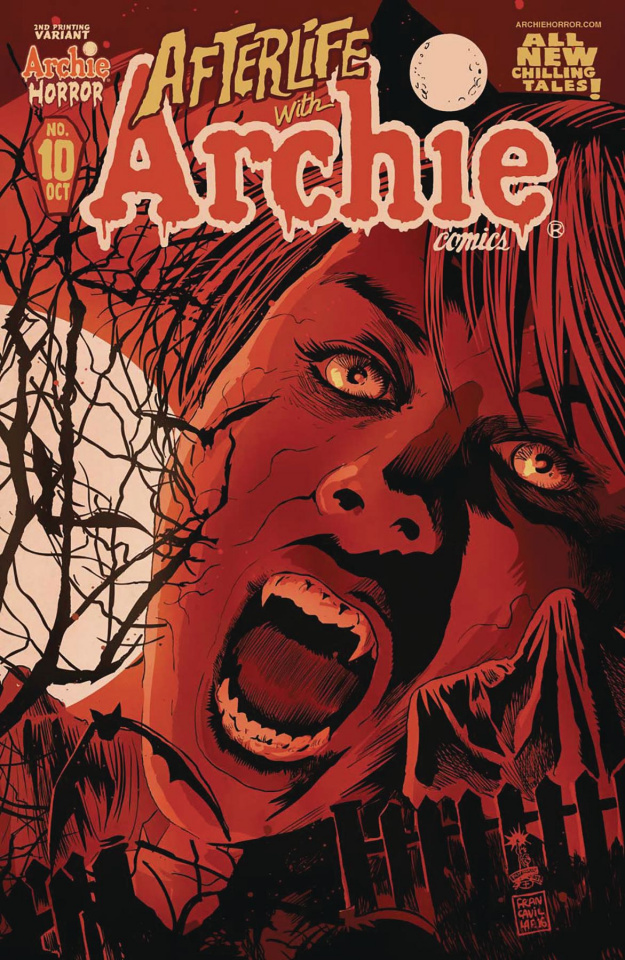 Afterlife With Archie #10 (2nd Printing Francavilla Cover)