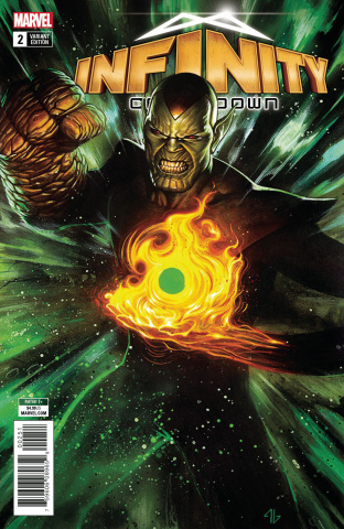 Infinity Countdown #2 (Super Skrull Holds Infinity Cover)
