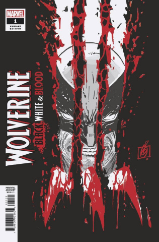 Wolverine: Black, White & Blood #1 (Garney Cover)