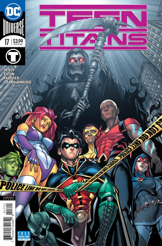 Teen Titans #17 (Variant Cover)