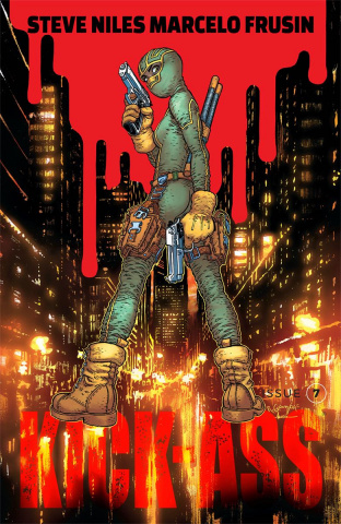 Kick-Ass #7 (Grampa Cover)