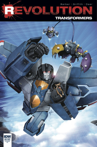Transformers: Revolution #1 (10 Copy Cover)