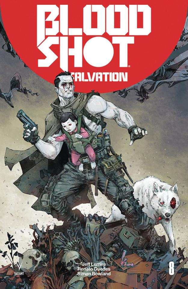 Bloodshot: Salvation #8 (Rocafort Cover)