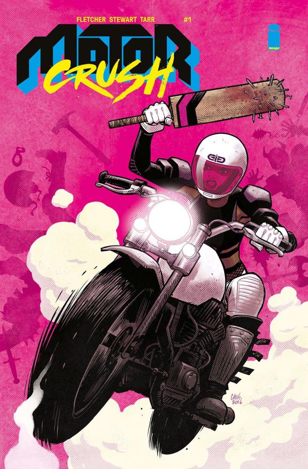 Motor Crush #1 (Stewart Cover)