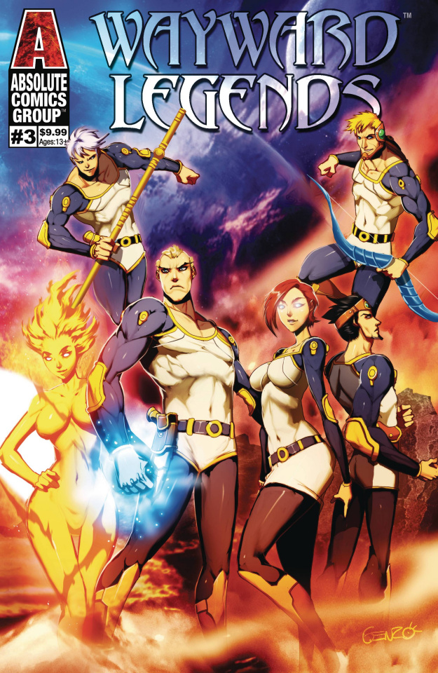 Wayward Legends #3 (Genzoman Metallic Ink Cover)