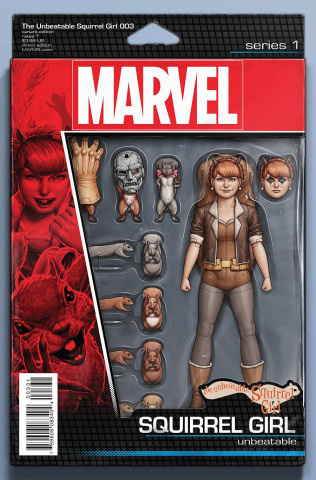 The Unbeatable Squirrel Girl #3 (Action Figure Cover)