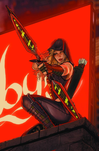 Grimm Fairy Tales: Robyn Hood - Wanted #1 (Sejic Cover)