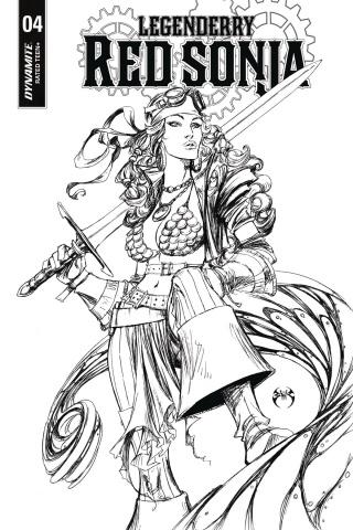 Legenderry: Red Sonja #4 (Benitez Cover)