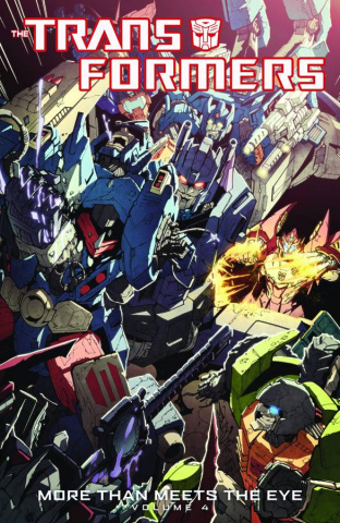 The Transformers: More Than Meets the Eye Vol. 4