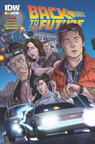 Back to the Future #1 (2nd Printing)
