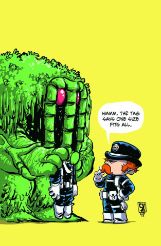 The Howling Commandos of S.H.I.E.L.D. #1 (Young Cover)
