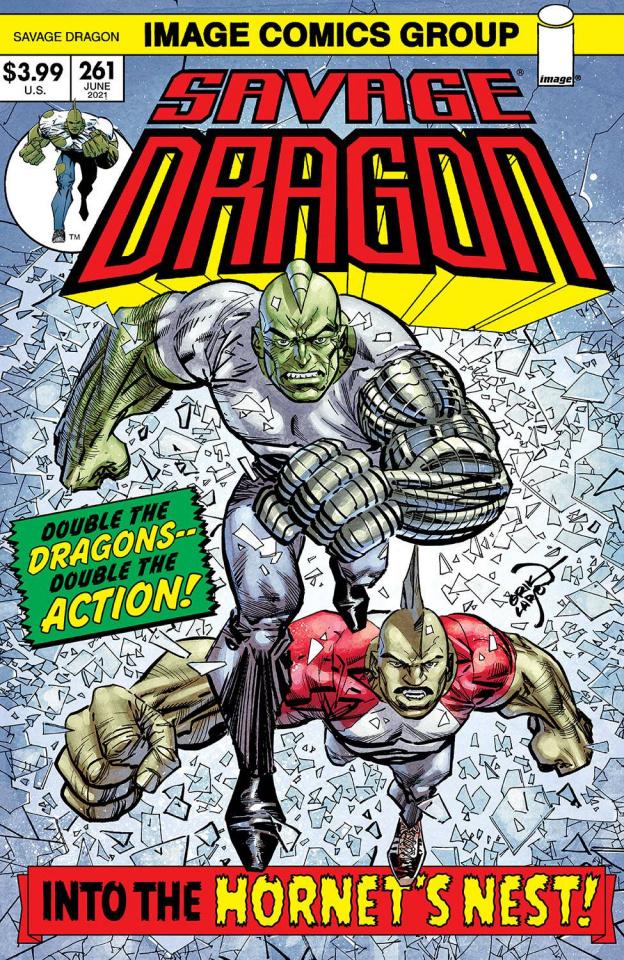 Savage Dragon #261 (Retro '70s Trade Dress Cover)