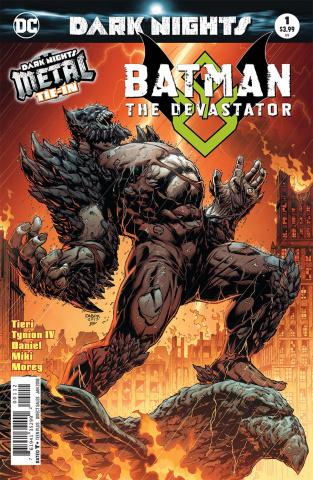 Batman: The Devastator #1 (Metal 2nd Printing)