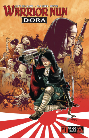 Warrior Nun: Dora #1 (Feudal Cover)