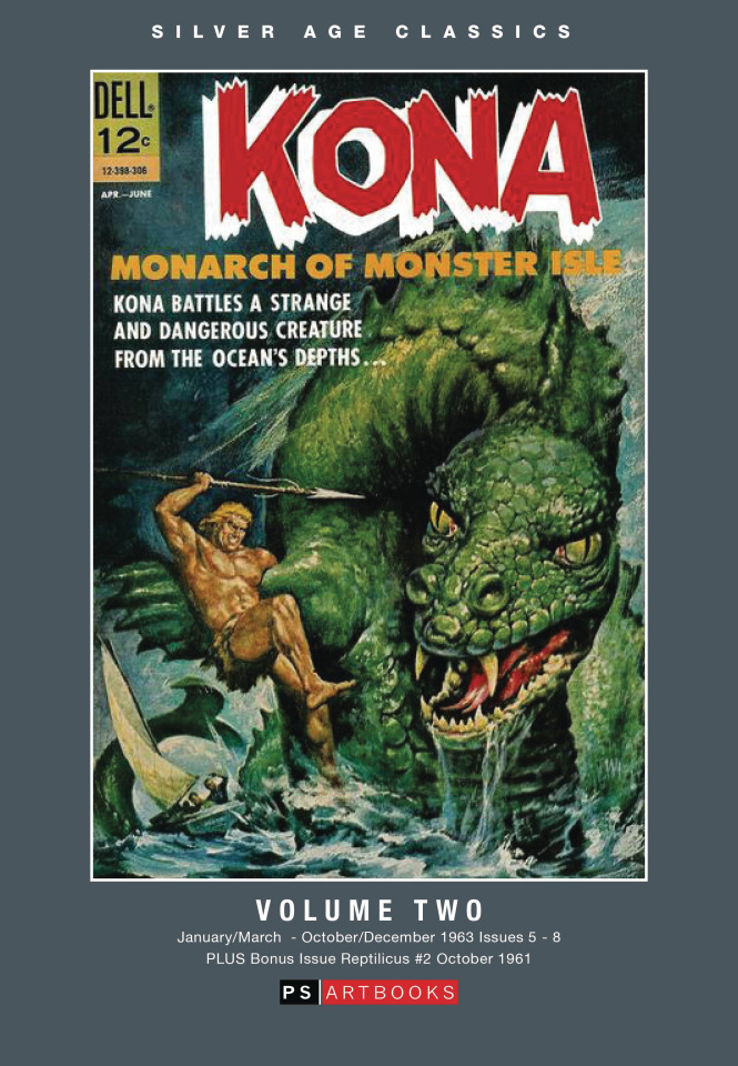 Kona: Monarch of Monster Isle Vol. 2