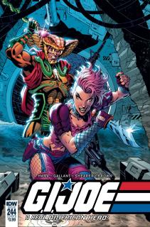 G.I. Joe: A Real American Hero #244 (Royle Cover)