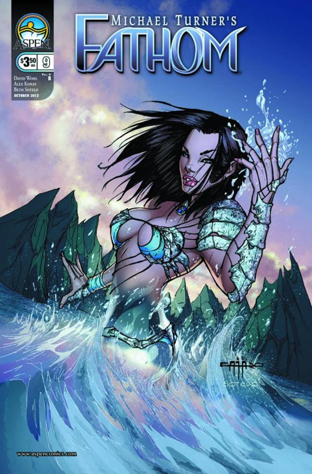Fathom #9 (Cafaro Cover)