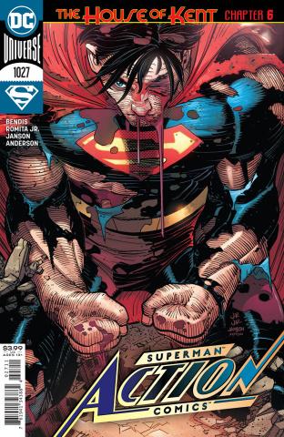 Action Comics #1027 (John Romita Jr & Klaus Janson Cover)