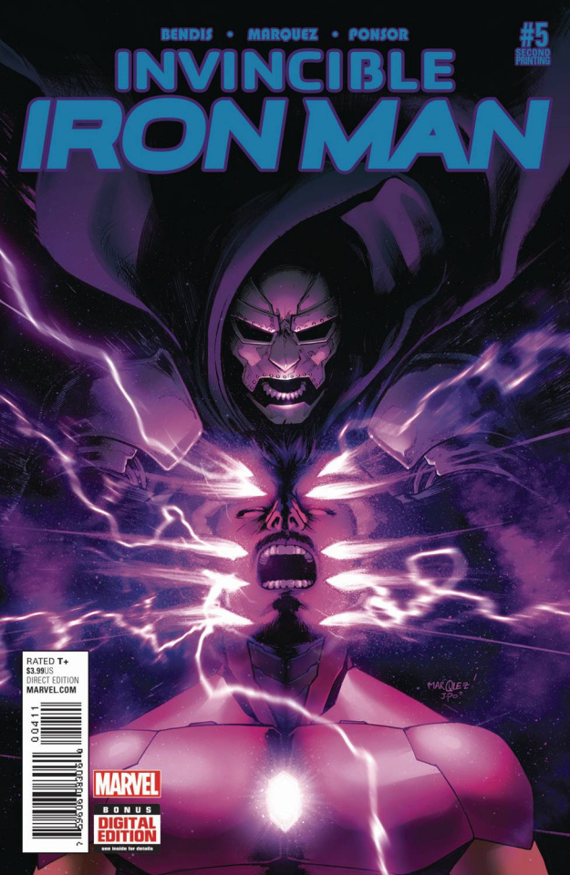 Invincible Iron Man #5 (Marquez 2nd Printing)