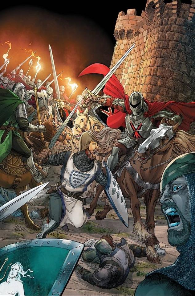 A Clash of Kings #15 (25 Copy Miller Virgin Cover)