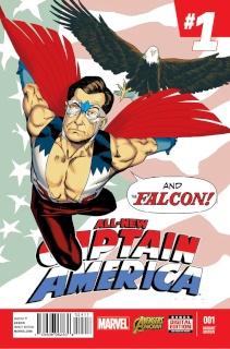 All-New Captain America #1 (Anka Cover)