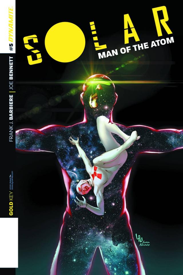 Solar: Man of the Atom #5 (Lau Subscription Cover)