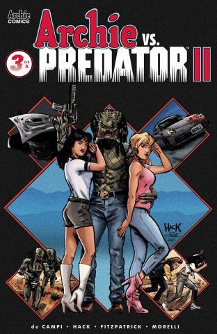 Archie vs. Predator II #3 (Hack Cover)