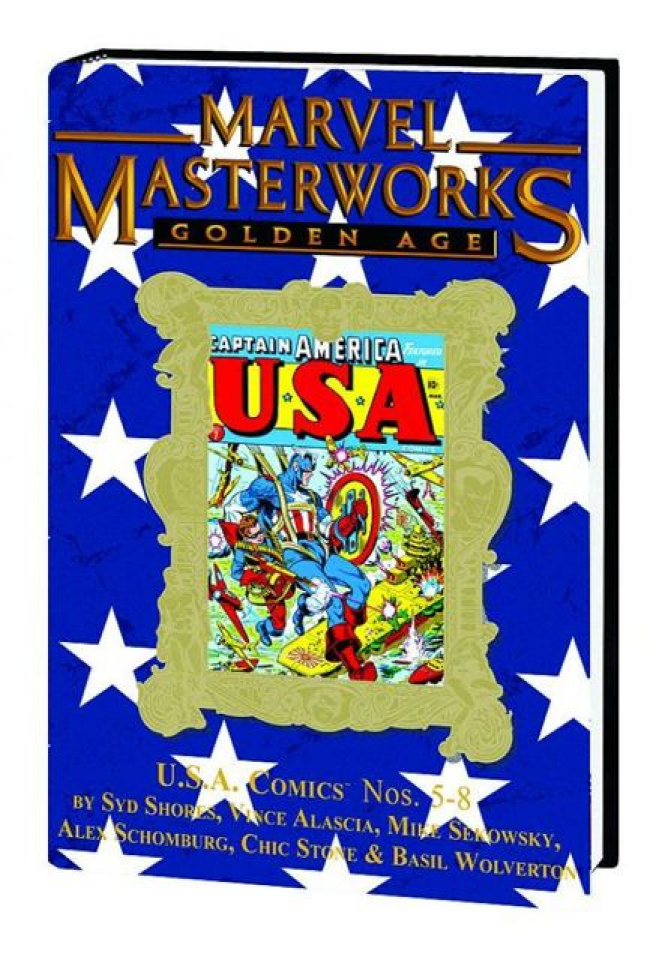 Golden Age U.S.A. Comics Vol. 2 (Marvel Masterworks)