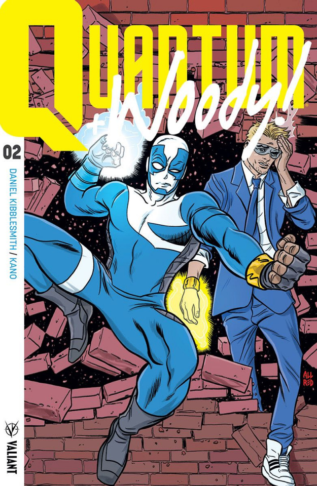 Quantum & Woody #2 (50 Copy Icon Allred Cover)