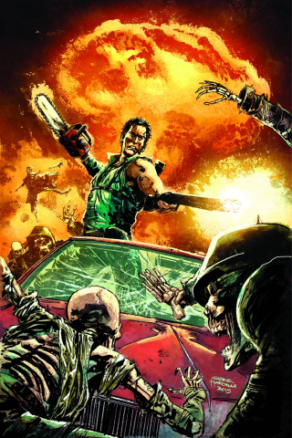 Army of Darkness: Furious Road #1 (Rare Hardman Virgin Cover)