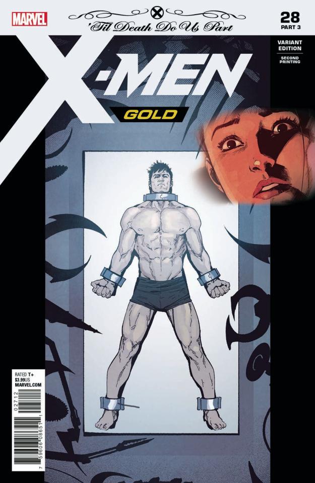 X-Men: Gold #28 (Bandini 2nd Printing)