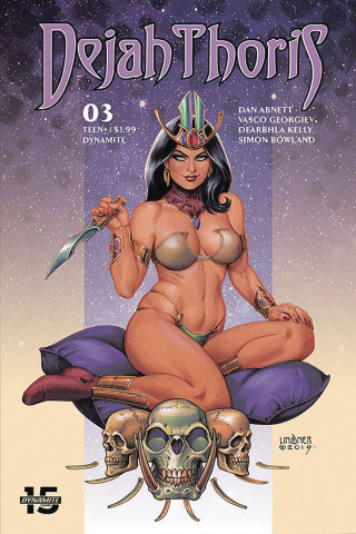 Dejah Thoris #3 (Linsner Cover)