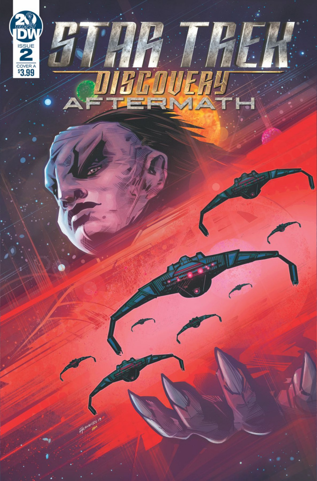 Star Trek Discovery: Aftermath #2 (Hernandez Cover)