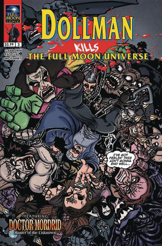 Dollman Kills the Full Moon Universe #3 (Fowler Cover)