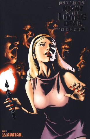Night of the Living Dead: The Beginning #1 (Platinum Foil Cover)