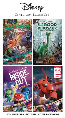 Disney: Cinestory Boxed Set