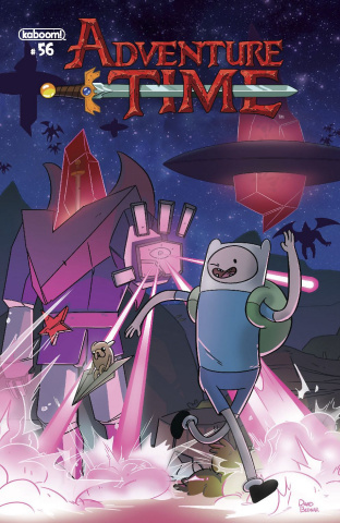 Adventure Time #56 (Subscription Bendar Cover)