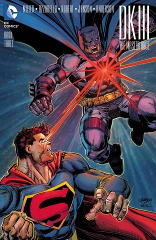 Dark Knight III: The Master Race #3 (Janson Cover)