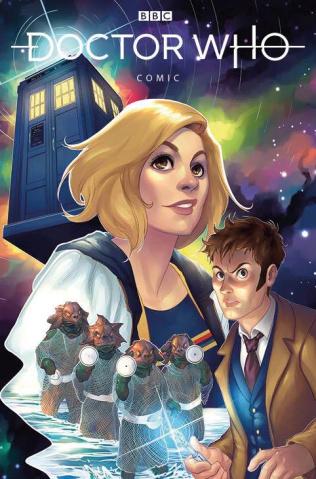 Doctor Who Comics #3 (Hetrick Cover)