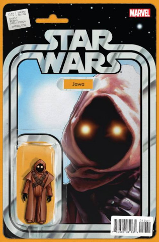 Star Wars #10 (Action Figure Cover)