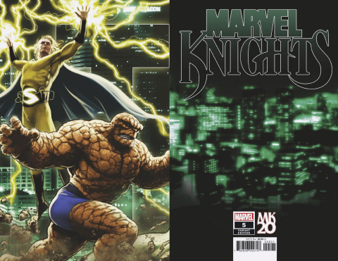 Marvel Knights: 20th Anniversary #5 (Andrews Connecting Cover)