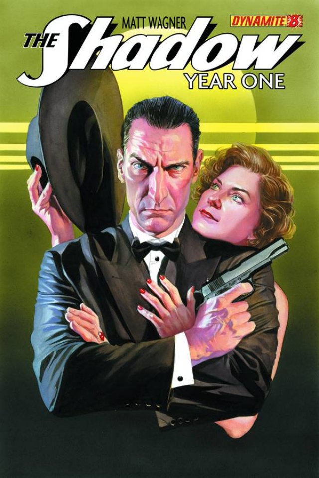 The Shadow: Year One #8 (Ross Cover)