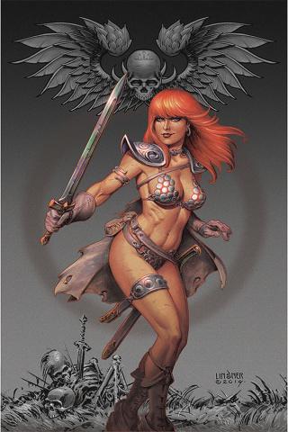 Red Sonja #14 (Linsner Virgin Cover)