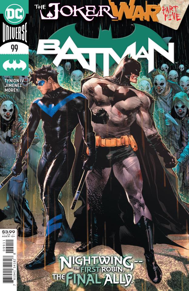 Batman #99 (Jorge Jimenez Cover)
