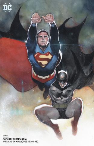 Batman / Superman #4 (Card Stock Cover)