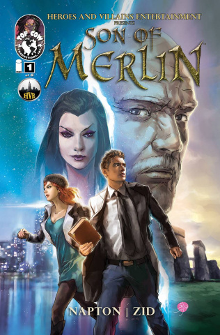 Son of Merlin #1 (Zid Cover)