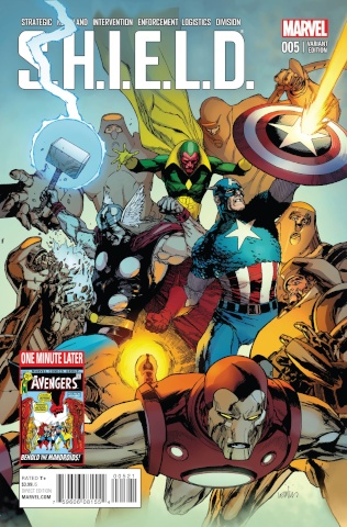 S.H.I.E.L.D. #5 (Yu Avengers Cover)