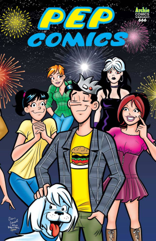 Archie #666 (Jughead Cover)