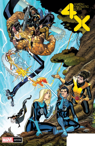 X-Men + Fantastic Four #1 (Garron Cover)