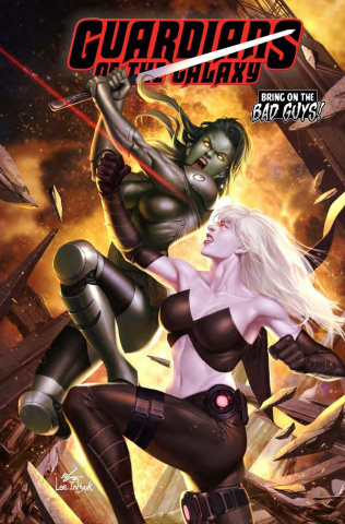 Guardians of the Galaxy #8 (Inhyuk Lee / BobG Cover)